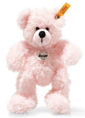 Steiff 113802 Teddybär, rosa, 18 cm