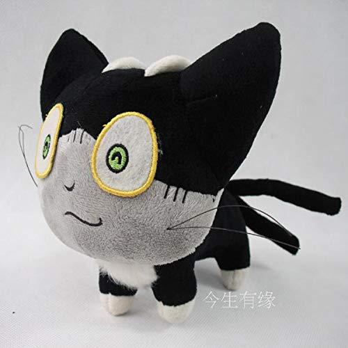 miaomiao StofftierKostenloser Versand Blue Exorcist Ao Kein Exorzist Cat Sith Kuro Gefüllte Plüschtiere 12 cm Soft Doll