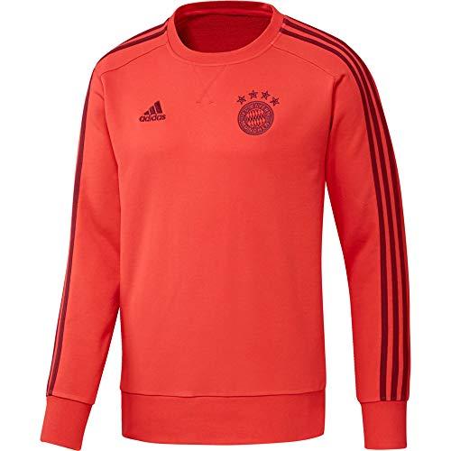 adidas Herren FCB SWT Top Sweatshirt, Rojbri/Maract, M