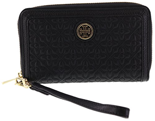 Tory Burch Bryant Smartphone Wristlet Wallet, Style No 34030 (Black)