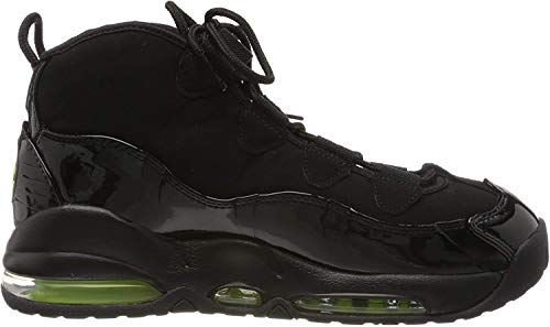 Nike Herren Air Max Uptempo '95 Basketball Shoe, Black/Volt, 47.5 EU