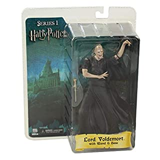 Harry Potter and the Order of the Phoenix NECA 7 Inch Series 2 Action Figure Death Eater Silver Mask
