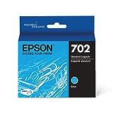 Epson T702220 DURABrite Ultra Cyan Standard Capacity Cartridge Ink