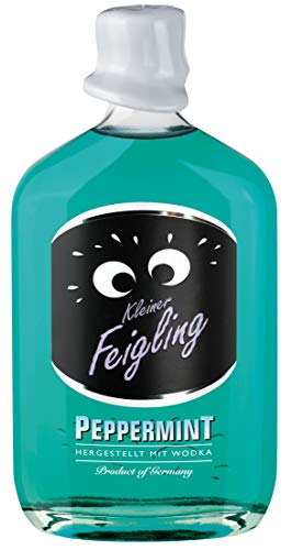 Kleiner Feigling | Peppermint | 1 x 500ml | Marken-Spirituose | Premium Likör | Feiern mit Fantasie | Der Party – Shot