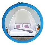 EVEN NATURALS Popup MOSKITONETZ Zelt, großes Mückennetz für Doppelbett, feinste Löcher, Camping Netz, Faltdesign mit Unterseite, 2 Einträge, einfache Installation, Tragetasche, Keine...
