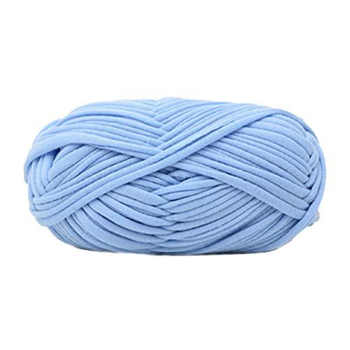 Benoon 100 g Strickgarn, weich, dick, für Decke, Pullover, Schal, handgefertigt, Hellblau