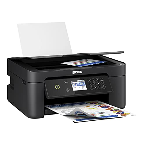 Epson Expression Home XP 4000 Series Wireless All-in-One Color Inkjet Printer/Print, Copy, Scan/Black, CBMOUN Printer Cable