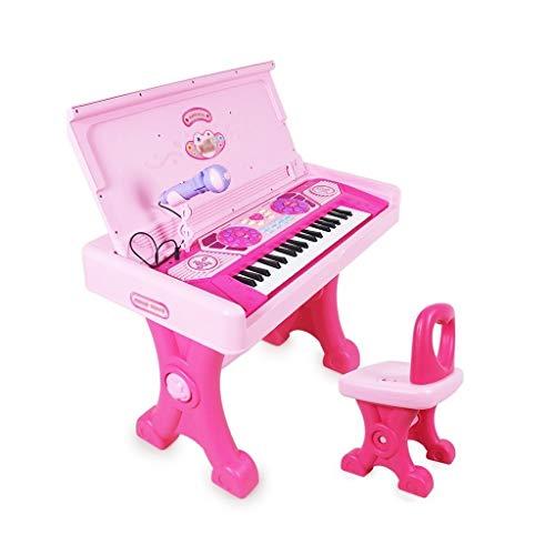 HXGL-piano Mesa De Estudio De Juguete For Niña Grande con Teclado ...