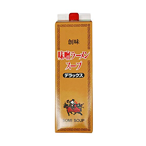 【常温】 創味食品 味噌ラーメンスープ デラックス 2kg 業務用 スープ ( ラーメンスープ )