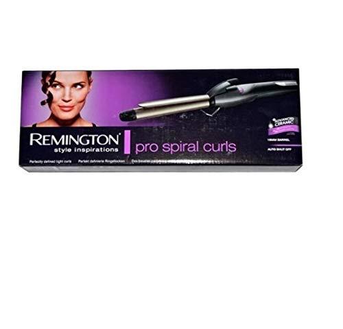 Remington Ci76 - Moldeador de pelo, 19 mm, revestimiento de teflón, cerámica y turmalina, ajuste de la temperatura