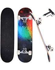 feiyacheye Professional Skateboard, Suitable for Any Age, Beginners Choice, Using Quality Maple Longboards
