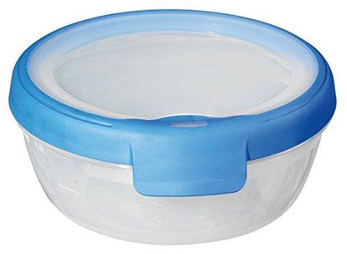 Papelera 00021-082-00 Ronda Recipiente hermético New Grand Chef, 0,7 L, translúcido/Azul