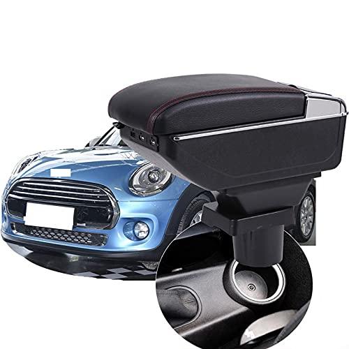 Rtyuiop Box bracciolo, per Mini Cooper R50 R52 R53 R56 R57 R58 F55 F56 F57, per Countryman R60 F60 Center Console Box bracciolo Accessori Auto