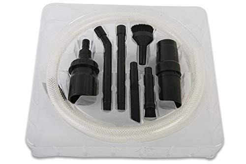 Minisaugset, Mikrodüsenset 9 Teile inkl. Adapter passend für Vorwerk Kobold VK 118 119 120 121 122 und Tiger 250 251 Staubsauger