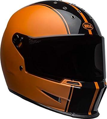 BELL Eliminator Street Helmet - Rally Matte/Gloss Black/Orange - Large
