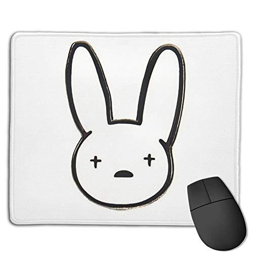 Bad X Bunny Alfombrilla De Ratón Suave Gaming Mouse Pad Precisión Alfombrilla Raton Ordenador Diseño Exclusivo Bordes Cosidos Base De Goma