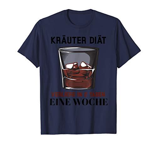Kräuter Diät Kräuterlikör witzige T-Shirt Geschenkidee Peffi T-Shirt