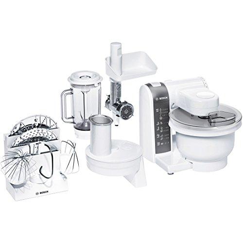 Bosch mum4855 Küchenmaschine, Kunststoff, 1 Liter, Grau, Weiß