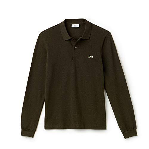 Lacoste Herren Poloshirt Classic Fit Langarm Cognac (26) 4