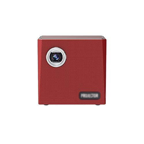 Mini Proyector 1080P Full HD,proyector Portátil De 2500 Lúmenes con Pantalla De 120',proyector LCD De 30000 Horas,proyector Cine En Casa Compatible con HDMI/USB.