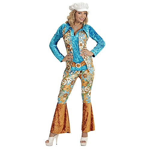Widmann Déguisement Femme Hippie Grande Taille Taille : XXL - 44/46