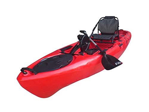 BKC PK11 10.6' Propeller Pedal Drive Kayak Review