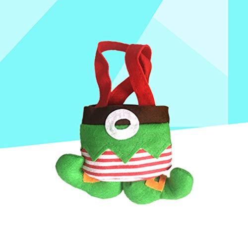Amosfun 1 stuks geschenkzakje Spirit Candy Christmas Boots Koekjes Elf cadeautasje Goodie Bag voor kinderen