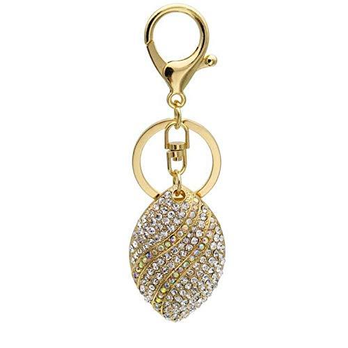NHLBD Lijianzi - Porte-clés pour femme avec strass incrustés - Décoration créative pour sac sauvage - Pendentif tendance pour sac à main