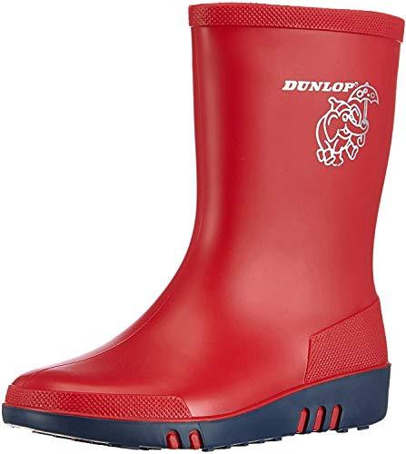 Dunlop Unisex kinderen Acifort Mini rood 29 rubberlaarzen, (Rood) 03, EU