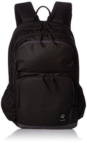 Volcom Herren Roamer Backpack Rucksack, Schwarz (Ink Black), 17x32x47 cm