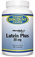 Vitamin Discount Center Lutein Plus with Bilberry Extract, 120 Capsules