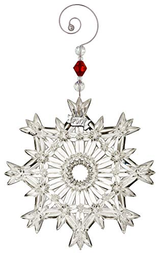 Price comparison product image Waterford Snow Crystal Pierced Ornament