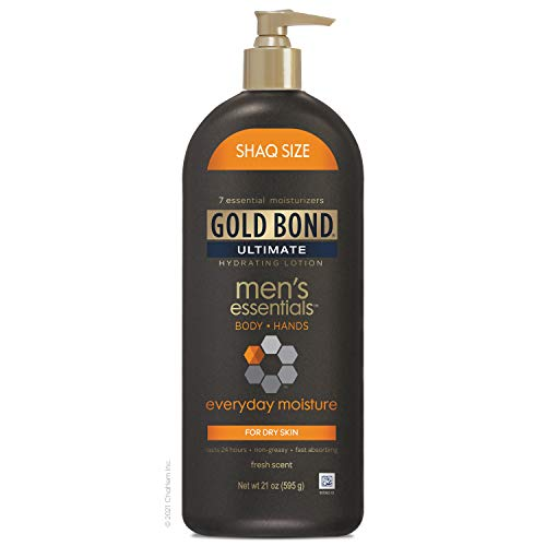 Gold Bond Ultimate Men's Everyday Hydrating Lotion, 21 Ounce