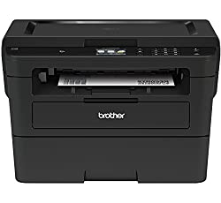 cheap Brother Compact Monochrome Laser Printer, HLL2395DW, Flatbed Copy and Scan, Wireless Printing, NFC, …
