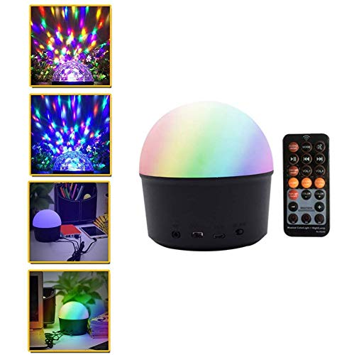 Aiyoudemutou Led Bluetooth Audiomusik-Laterne-Nachtlicht, Timed Mood Light for Kinder, for DJ Parties Car Bühne Geburtstag