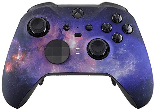 UN-MODDED Custom Controller Compatible with Xbox ONE Elite Series 2 (with 3.5 Jack) for All Major Shooter Games… (Multiple Designs Available) (Space)