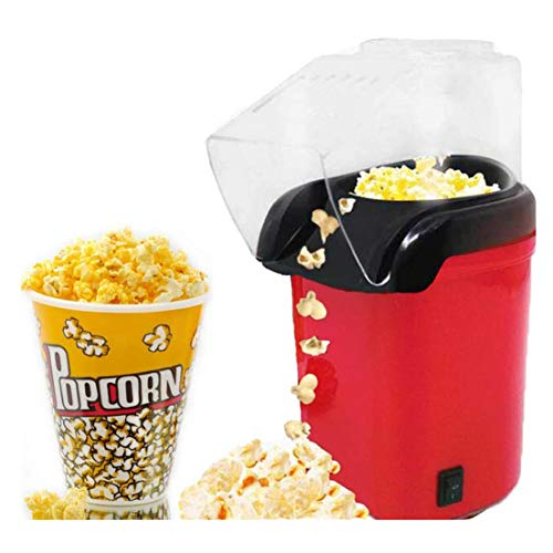 Discover Bargain IhDFR Hot Air Popcorn Maker, 1200W Retro Popcorn Maker Healthy and Fat-Free, Measur...