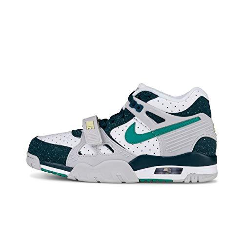 Nike Air Trainer 3 - Zapatillas de gimnasia para hombre Verde Size: 43 EU