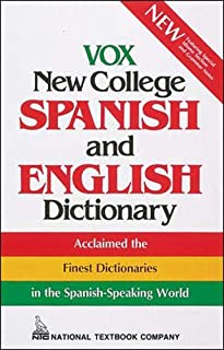 Vox New College Spanish and English Dictionary