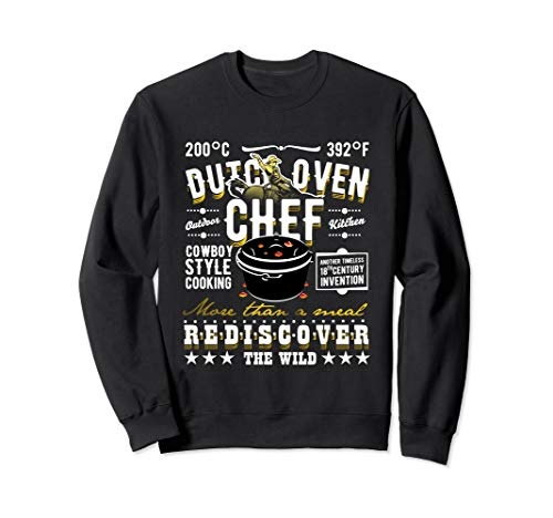 Dutch Oven Design BBQ & Grill Fan Dutch Oven Sweatshirt