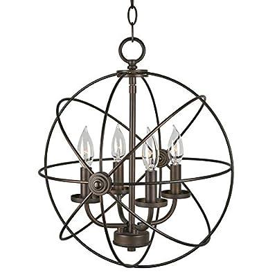 Orbits Modern Sphere/Orb Chandelier