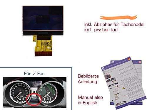 gearworks Display für SLK R171 Tacho/Kombiinstrument LCD Anzeige UNTEN