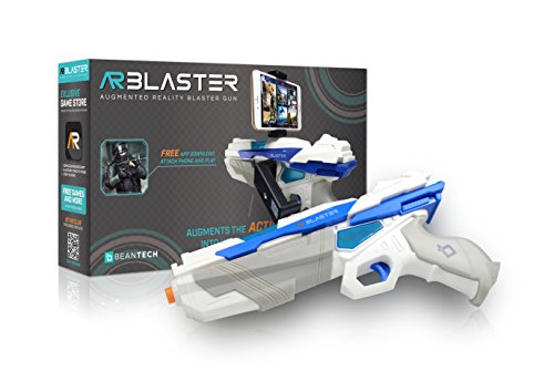 AR Blaster  360° Augmented Reality Video Game  Smart Phone Toy Gun Controller for iPhone amp Android phones  Bluetooth 42  for Boys and Girls Kid#039s Teens and Adults