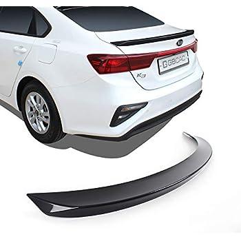 SAFE ABS Acrylic Rear Window Roof Spoiler Visor for 2019~2020 Hyundai Elantra 4door Sedan