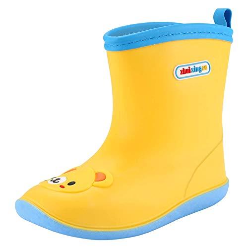 Botas de Lluvia amarillas para Niño