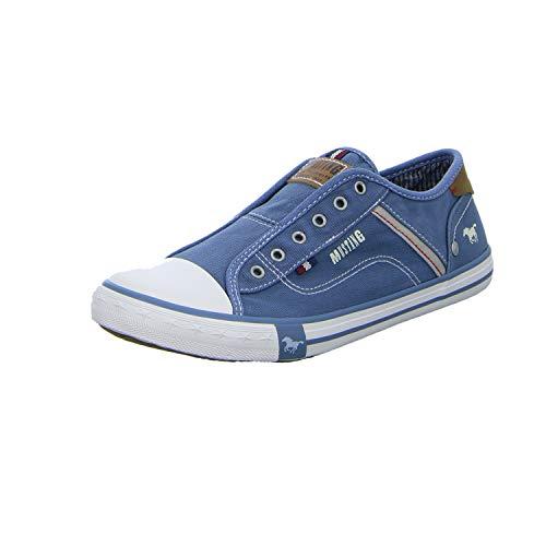 MUSTANG Unisex 5803-414-8 Slip On Sneaker, Blau (Blau 8), 39 EU