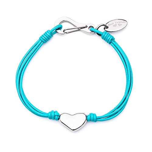 Tribal Steel Mädchen Charm-Armbänder Edelstahl - Tk1462 16.5 Tq BF