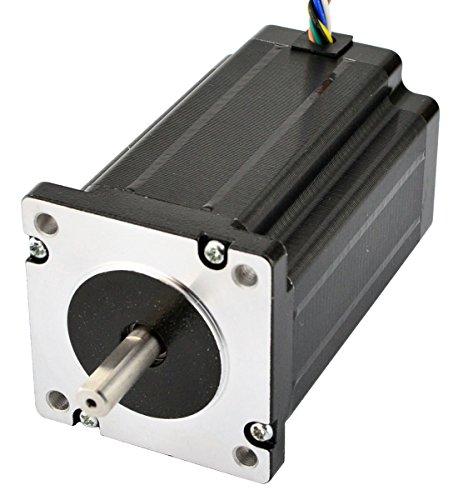 STEPPERONLINE Nema 24 CNC motore passo-passo 3.1 Nm 60 x 60 x 80 mm 8 fili per stampante 3D, fresatrice CNC