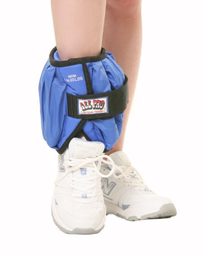 All Pro Weight Adjustable Ankle Weight,...