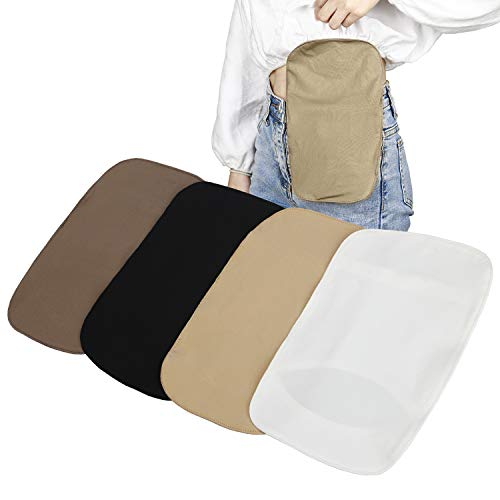4Pcs Stretchy Colostomy Bag Cover Lightweight Ostomy Pouch Pocket